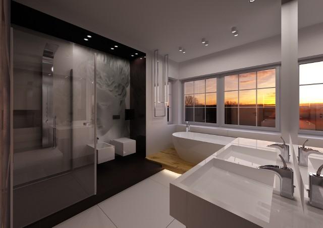 Strefa relaksu w łazience. Nowoczesne projekty aranżacyjneStrefa relaksu w łazience. Nowoczesne projekty aranżacyjne