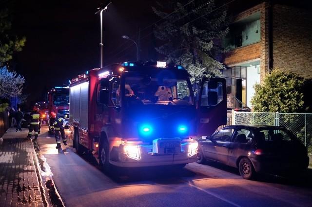 Stęszewska: Mężczyzna zginął w pożarze