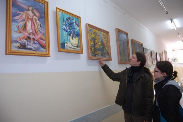 Natalia i Maciej Jelińscy w swojej galerii