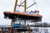 Wodowanie drugiego lodołamacza dla Wód Polskich w stoczni Remontowa Shipbuilding [ZDJĘCIA]