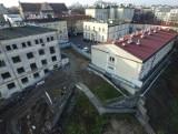 Będą burzyć szpital przy Staszica. Lecznica będzie teraz w wieżowcu