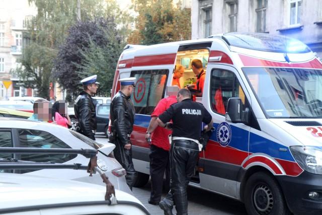 Policjanci weszli do mieszkania w Częstochowie