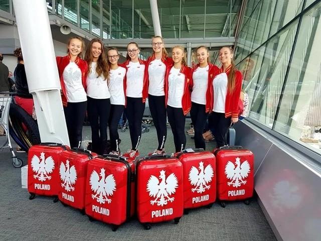 Natalia Kulig (druga z prawej) podczas wyjazdu z kadrą Polski