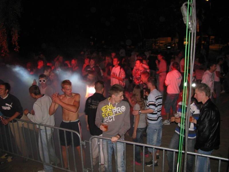 Na Eufori Dzięku bawią się setki młodych ludzi.