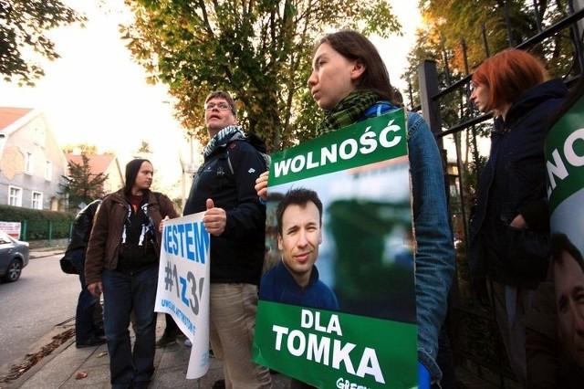Aktywiści Greenpeace protestowali przed konsulatem rosyjskim