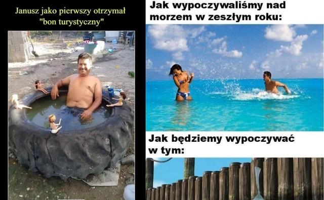 Bon turystyczny - MEMY. Najlepsze śmieszne obrazki, grafiki, memy z bonem 500 plus na wakacje