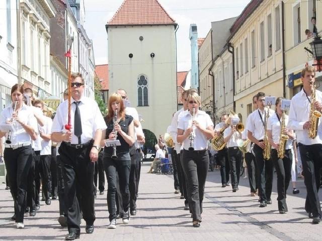 Przed Bramką Grudziądzka znów zagra orkiestra