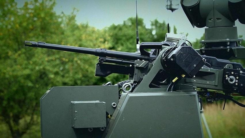 Perun - pojazd autonomiczny, czyli czołg bezzałogowy