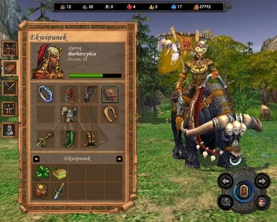 Screen z gry