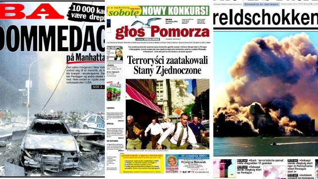 Tak o tragicznych wydarzeniach w Stanach Zjednoczonych informowały 20 lat temu gazety z całego świata.