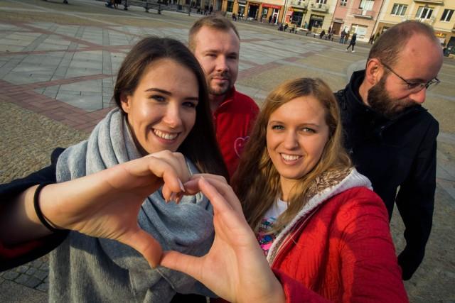 WOŚP nie zagra w Białymstoku? Magda Łapińska (po prawej) została sama w sztabie. Mimo problemów liczy, że znajdą się chętni, by pomóc zorganizować 28. finał WOŚP
