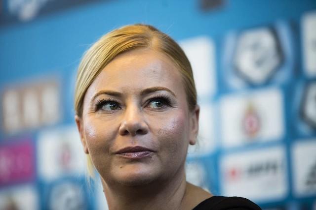 Marzena Sarapata przyznała, że już od dziecka jest wiernym kibicem krakowskiej Wisły