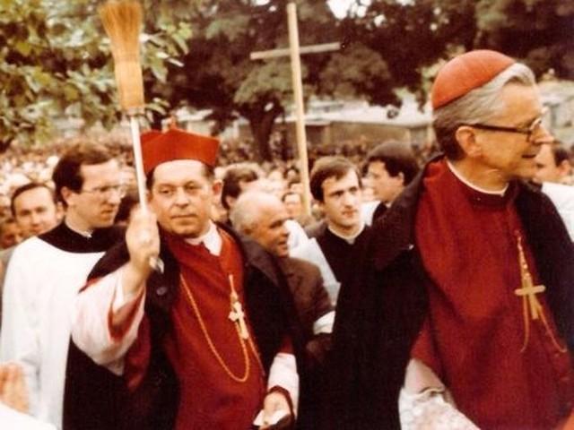 Obchody 10-lecia naszej diecezji w Słupsku (27 czerwca 1982).