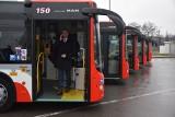 Częstochowa: Sześć pierwszych autobusów man przyjechało do zajezdni MPK. Kolejne mają dotrzeć w przyszłym tygodniu [ZDJĘCIA]