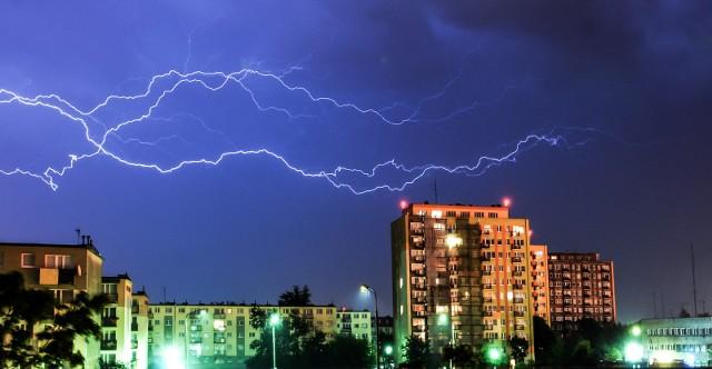 IMGW wydało alert dotyczący burz w Kujawsko-Pomorskiem