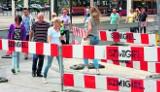 Slalom dla pieszych w centrum Łodzi!