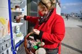 Inowrocław. Dużo osób korzysta ze społecznej lodówki pod Galerią Solną w Inowrocławiu. Zdjecia
