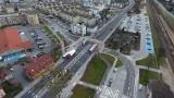 Węzeł przesiadkowy przy dworcu PKP w Redzie gotowy. Znajdują się tu m.in. parkingi dla ponad 200 aut i 130 rowerów