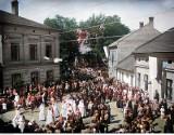 Archiwalne zdjęcia Żywca... pokolorowane! Jak wyglądało miasto przed wojną? Oto unikatowe FOTOGRAFIE