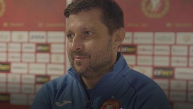 Trener Marcin Kaczmarek