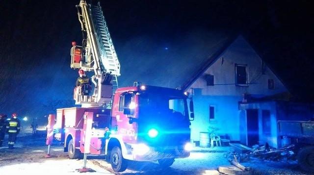 Tragedia w Dusznikach. W pożarze domu zginęła dwójka dzieci