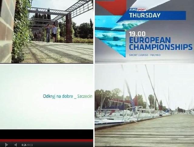 W związku z Mistrzostwami Europy w pływaniu rusza kampania Szczecina w Eurosporcie.