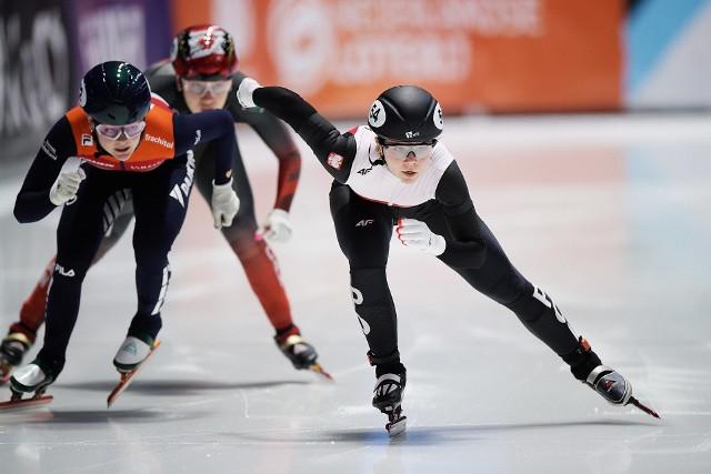 Nikola Mazur zajęła ósme miejsce w rywaliacji na 500 metrów podczas mistrzostw świata w short tracku