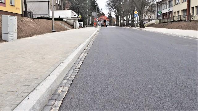 Prawdopodobnie już na koniec kwietnia ulica Kościuszki w Koszalinie zostanie odebrana