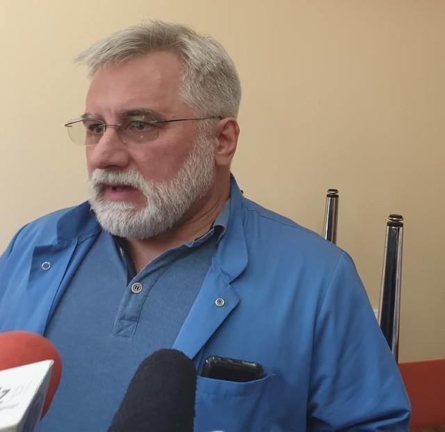 Dr Wojciech Ogorzeja, tworzył oddział kardiochirurgii w Grudziądzu.