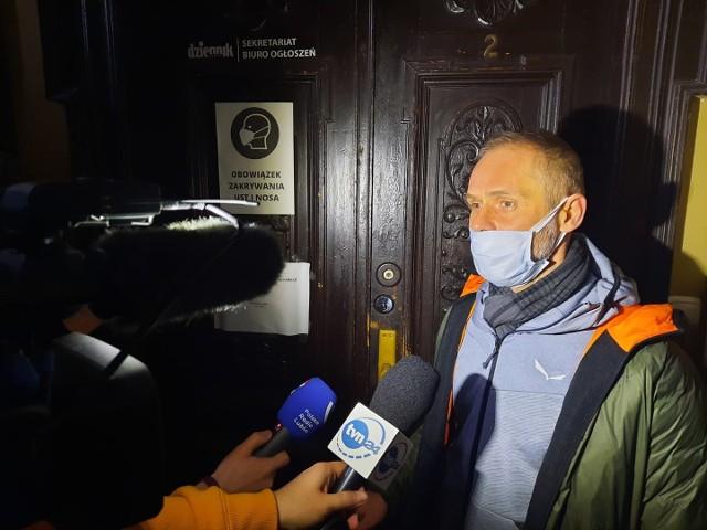W ubiegły poniedziałek Leszek Kukawski odwołał Krzysztofa Wiejaka (na zdjęciu) z funkcji redaktora naczelnego. W ostatnią sobotę wkroczył do redakcji w towarzystwie ochroniarzy.