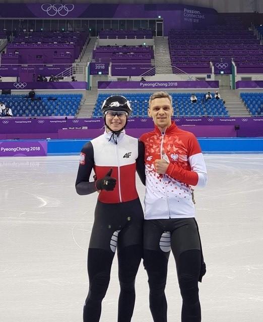 Natalia Maliszewska i Bartosz Konopko