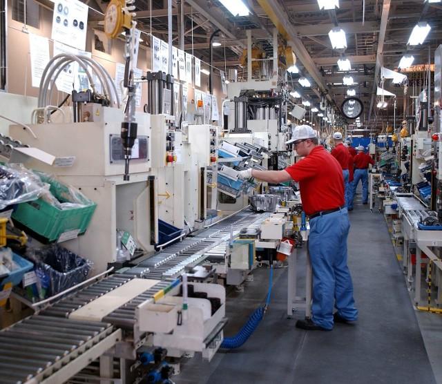 Produkcja przekładni w Toyota Motor Manufacturing Poland w Czechach.