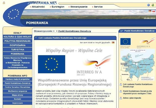 Punkt Kontaktowo-Doradczy Euroregionu Pomerania działa od 5 lat