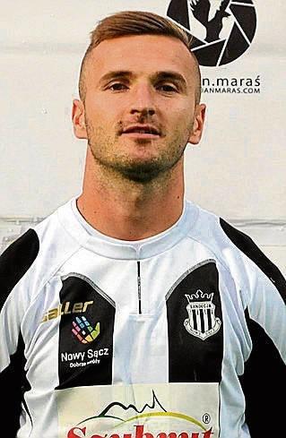 Bartłomiej Dudzic ma 28 lat, to jego czwarta runda w Sandecji
