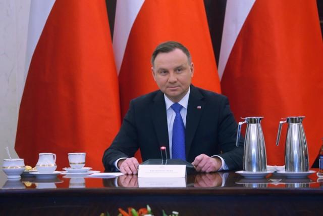 Prezydent Andrzej Duda: Część środowiska sędziowskiego to beneficjenci czasów komunistycznych