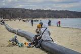 Czy na plażach w Trójmieście będą miejsca do siedzenia? Rura w Sopocie stała się hitem wśród plażowiczów! Miasta powinny o to zadbać?