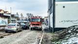 Pożar w zabytkowej kamienicy w centrum Żar. Ewakuowano mieszkańców
