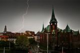 Pierwsza burza tej wiosny we Wrocławiu. Jak długo potrwa?