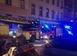 Pożar na ul. Ofiar Oświęcimskich. Konieczna była ewakuacja rodziny
