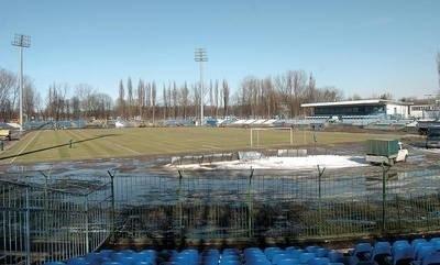 Na tym stadionie w wiosennej rundzie będą grali piłkarze Cracovii i Wisły Fot. Michał Klag