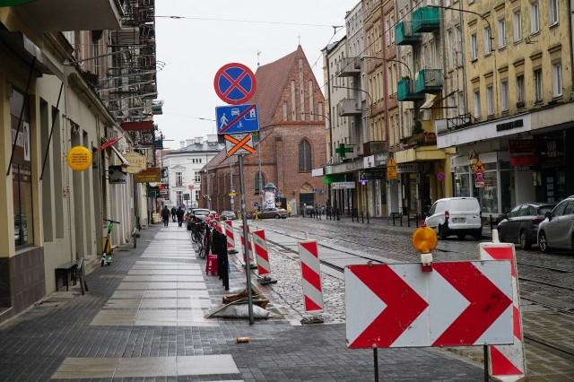 Ulicę Święty Marcin czeka teraz kolejny etap przebudowy