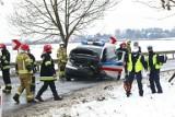Groźny wypadek pod Wrocławiem. Pięć osób rannych, lądował śmigłowiec LPR