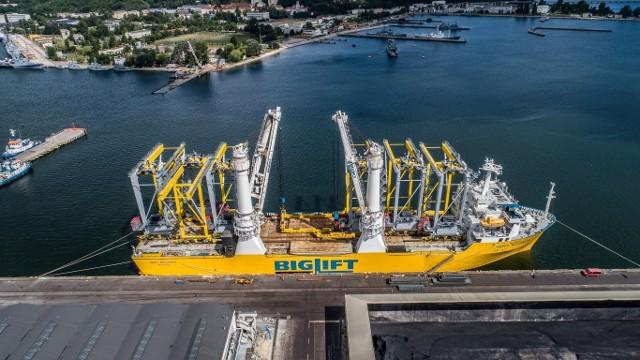 Suwnice typu ASC przeznaczone do Portu Ashdod w Izraelu załadowane w Porcie Gdynia