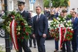 """Gdańsk: Prezydent Andrzej Duda złożył kwiaty w rocznicę """"krwawej niedzieli"""" [ZDJĘCIA, WIDEO]"""