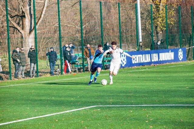 Legia Warszawa wygrała 3:1 z Hutnikiem Kraków w meczu 15. kolejki Centralnej Ligi Juniorów U-18.