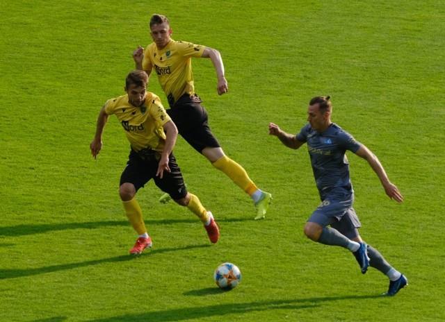 GKS Katowice pokonał Stal Rzeszów 3:2.Zobacz kolejne zdjęcia. Przesuwaj zdjęcia w prawo - naciśnij strzałkę lub przycisk NASTĘPNE
