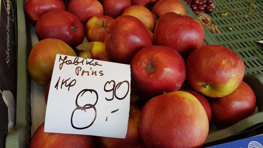 Ceny owoców w Katowicach. Ale te jabłka są drogie!...