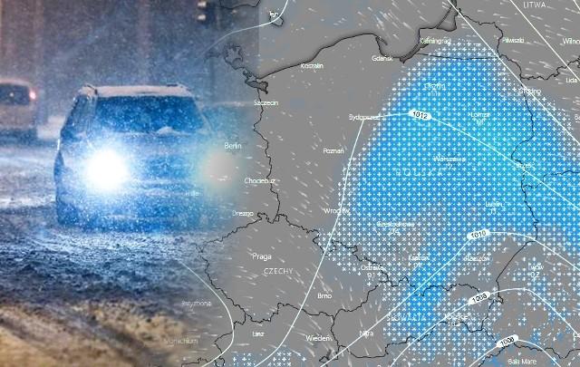 Intensywne Opady Sniegu Zmierzaja Do Polski Gdzie Bedzie Padac