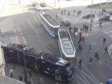 Zderzenie tramwajów na Świdnickiej