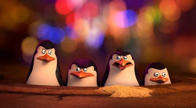 Kadr z filmu Pingwiny z Madagaskaru.